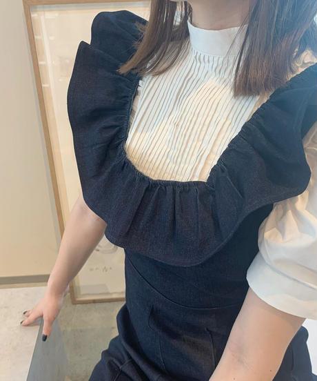 back ribbon blouse