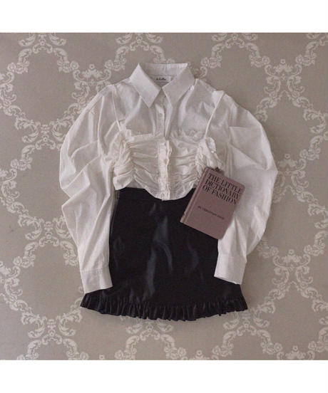 【Autumn 26】bustier set boyfriend shirt (A20-04086K)
