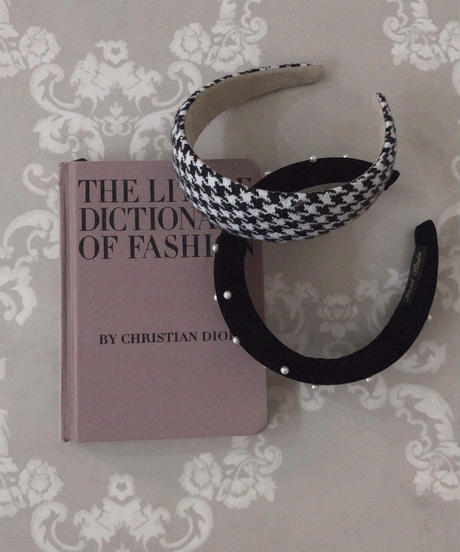 houndstooth head band