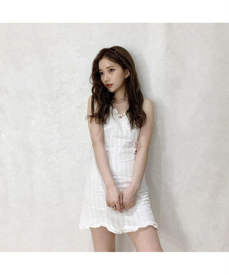 《LAST 2》【Summer 30】rose cotton mini one-piece (cg00029)