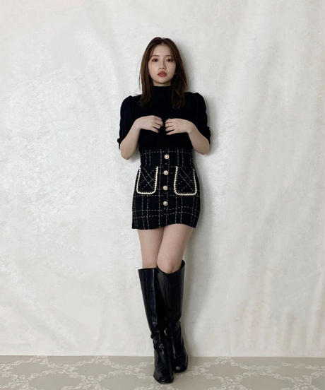 straight long boots