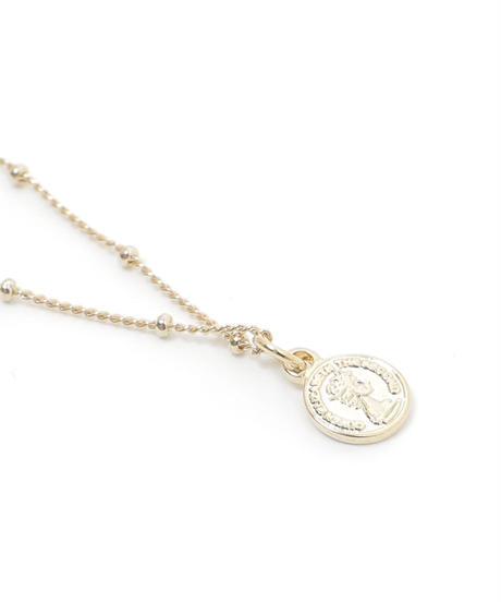 heart eye motif necklace(A19-10127K)