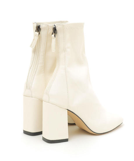 【CHISATO YOSHIKI × &lottie】square to short boots (S20-07021P)