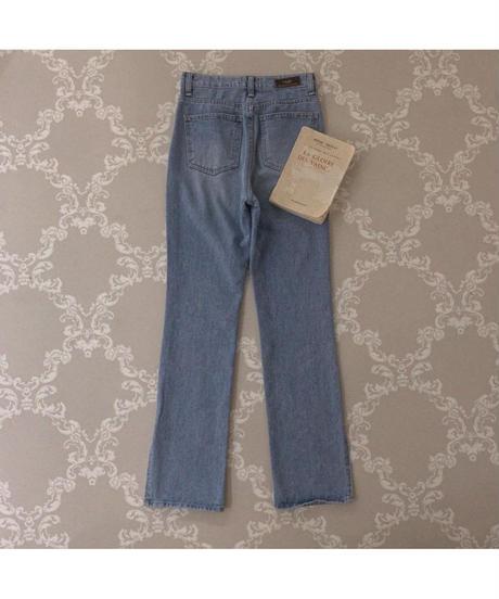 【Summer 29】flare slit denim pants(S20-02014K)