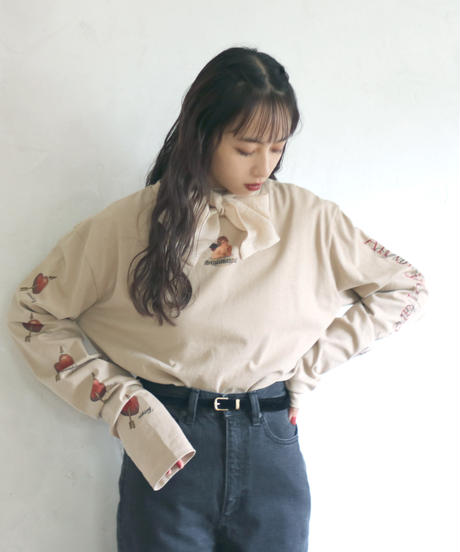 plain velour belt(A19-10131K)