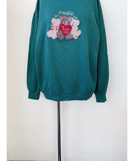 used teddy bear sweat