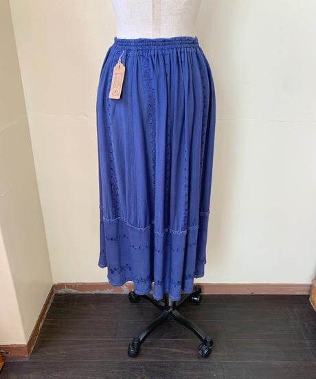 used india cotton skirt