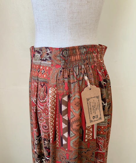 used native rayon skirt