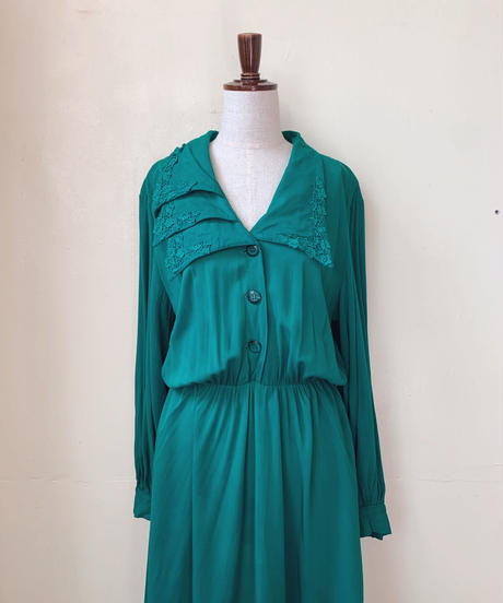 used 80s cotton dress