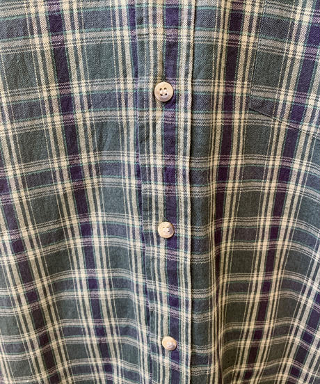 used mens check shirt