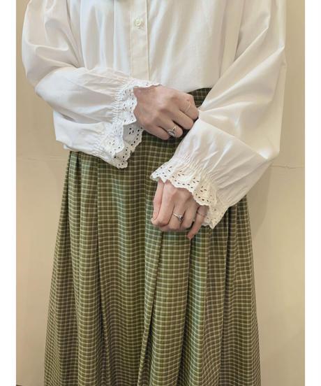 used euro check skirt