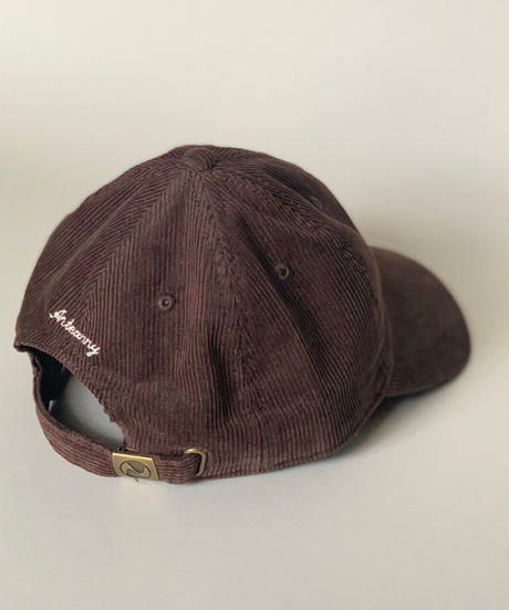 dog color corduroy cap