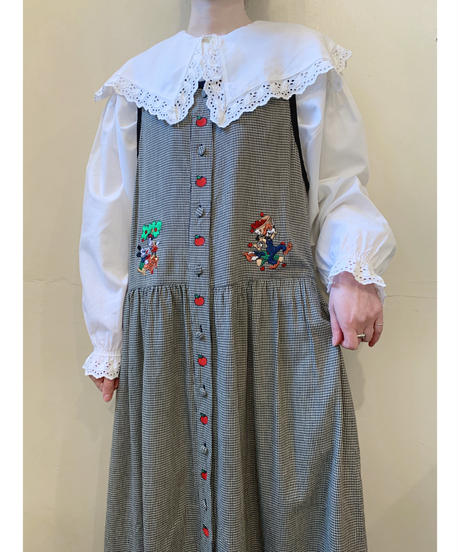 used Disney check dress