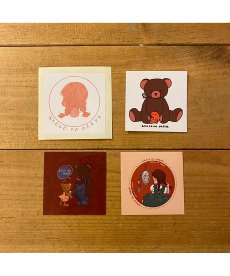 anoco no oheya sticker set