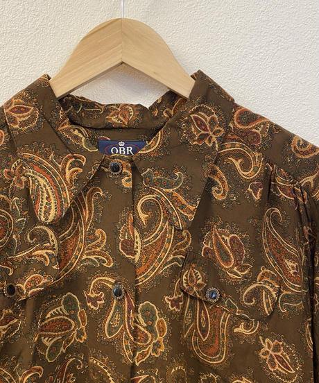 秋の夕暮れのシャツ1496