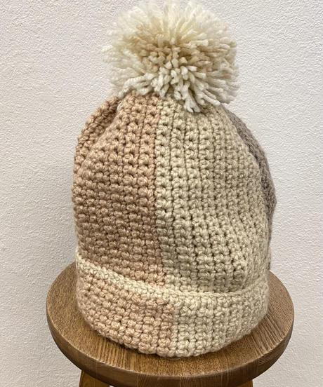 ピーチティーのニット帽0288