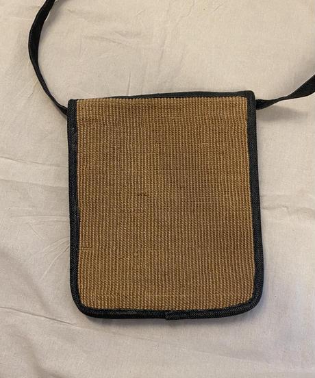 レトロな編みバッグ0189