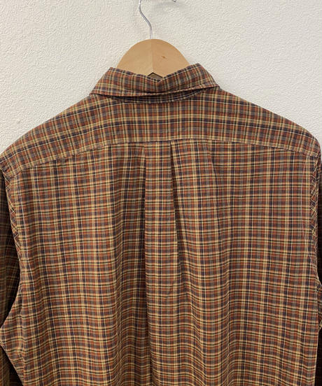 秋の味覚を楽しむチェックシャツ4076