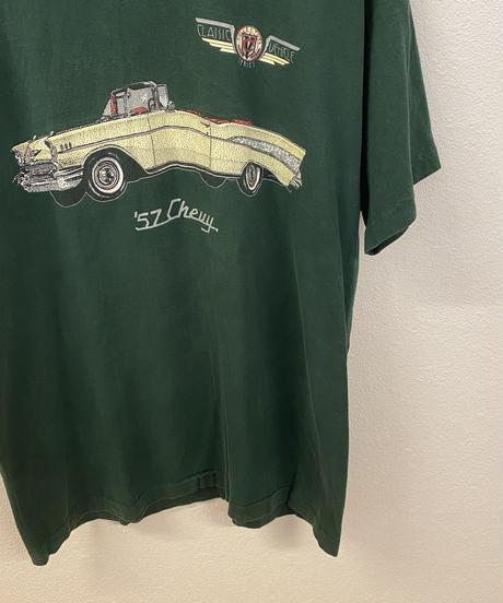 ヴィンテージの車が好きなTシャツ3727