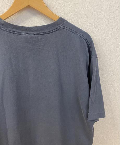 曇り空を駆け抜ける鳥のTシャツ3726