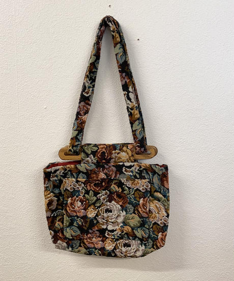 お花畑のバッグ0257