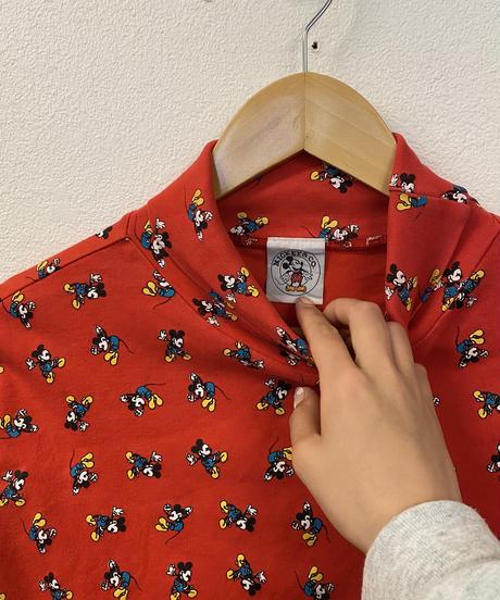 ミッキーのトップス(red)3162