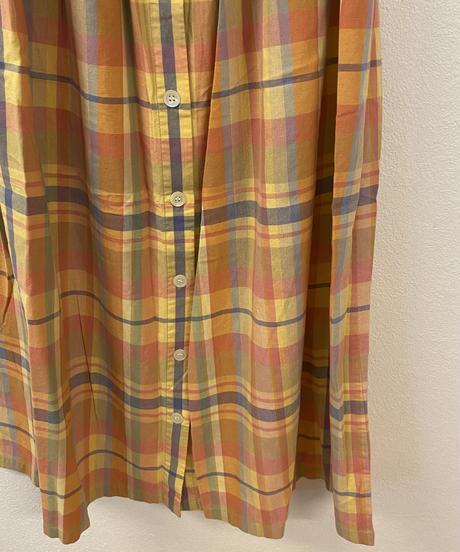 優しい気持ちのチェック柄スカート3346