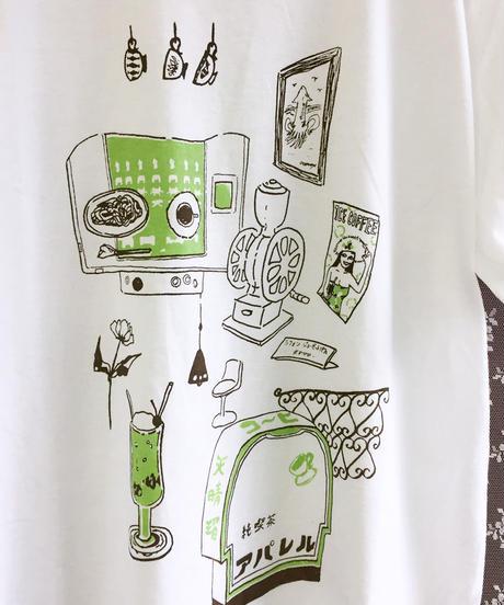純喫茶 アパレル スタンダードTシャツ 白 ホワイト