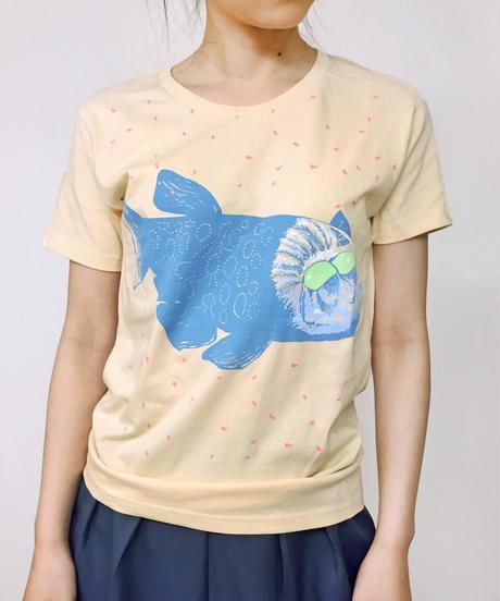 Tシャツ デメニギス(Cream)