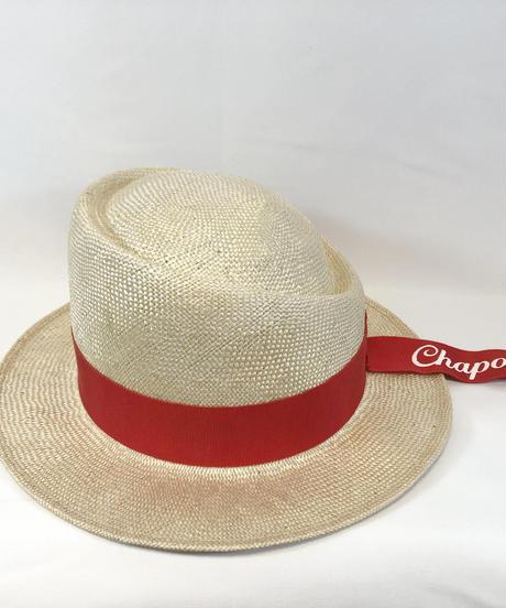 Chapon/シャポン アシンメトリーハットChaponリボン