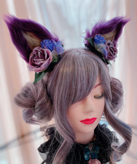 GothicHolic/ゴシックホリック 365 耳クリップ(紫②)