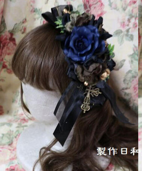 製作日和 リボン飾り付きヘッドドレス②(期間限定アイテム)