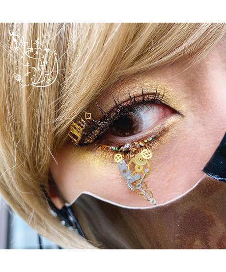 MYK WORK/実柚季 P-020    Mono   (gold/square)