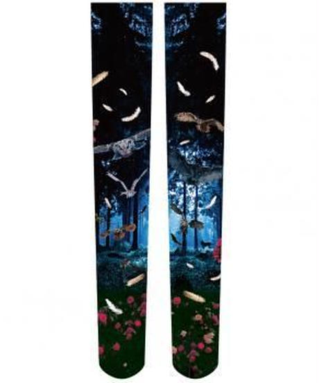GOTHIC HOLIC/ゴシックホリック【深遠の森のふくろう】ふくろうニーハイソックス