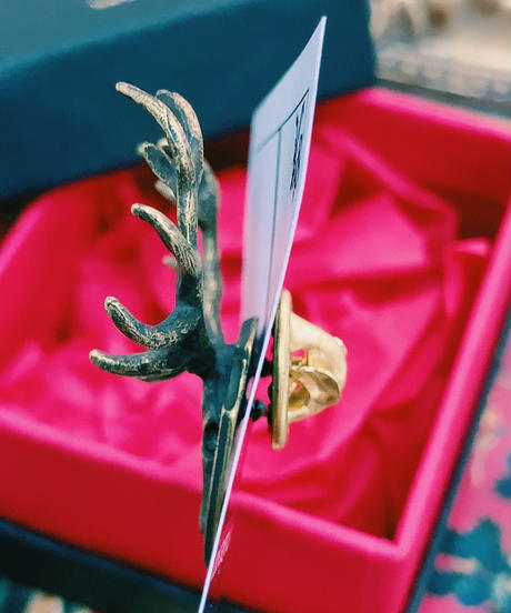 kaus/カウス deer skull cap