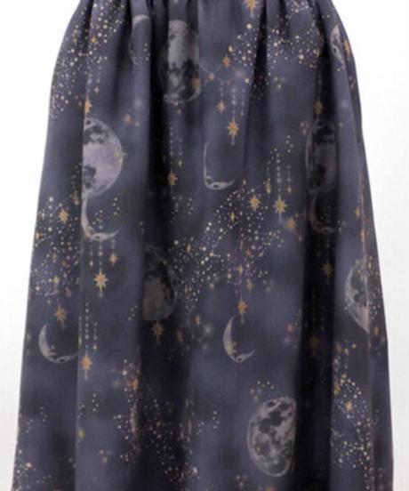 elements,H/エレメンツ,アッシュ 062502G Moon print スカート【特別価格】