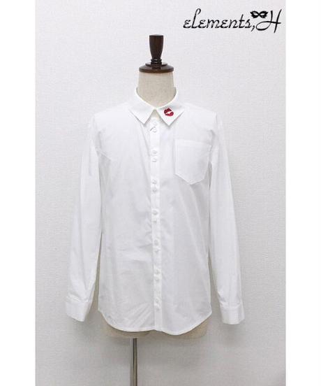 elements,H/エレメンツ,アッシュ 500401P MENSキスマークシャツ