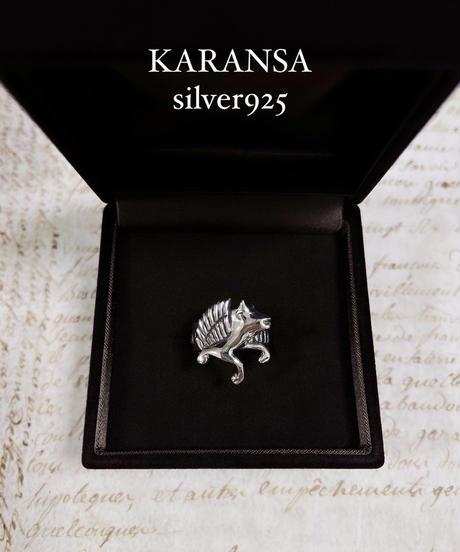 KARANSA/カランサ KSV-2 《オリンポスの牡牛》silver925  シルバーリング size12号