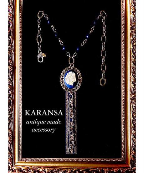 KARANSA/カランサ KN-187 《獅子座のカメオ》 ネックレス