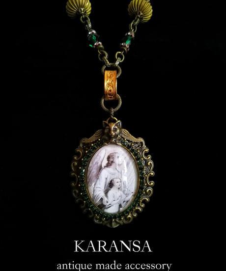 KARANSA/カランサ KN-151 猫天使ガブリエルネックレス