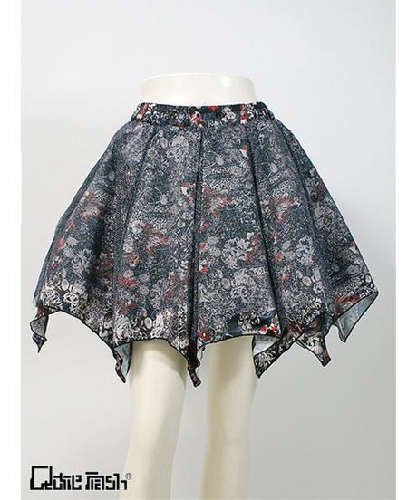 QutieFrash/キューティーフラッシュ 7931-SK 和柄パニエスカート
