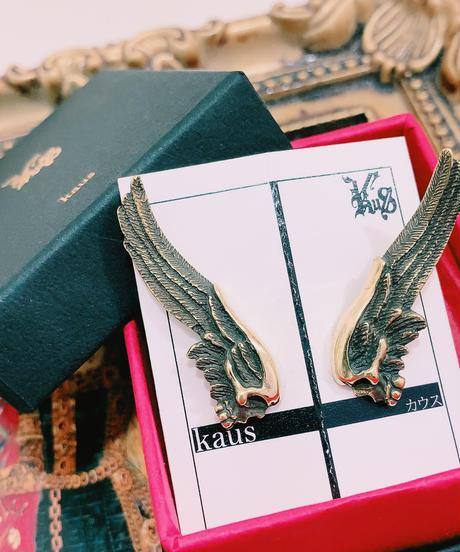 kaus/カウス skull wing