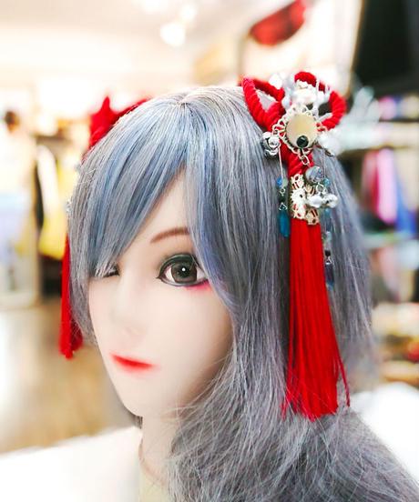 花美鈴/はなみりん   0041   龍の髪飾り