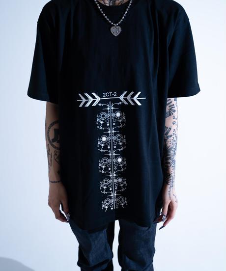 D/3/ディースリー 2ct2ペルソナ ポール ビッグTシャツ