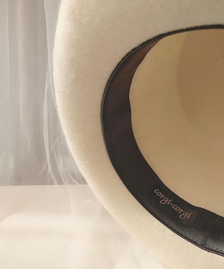 corgi-corgi/コーギーコーギー COA-108 HAT(WH)