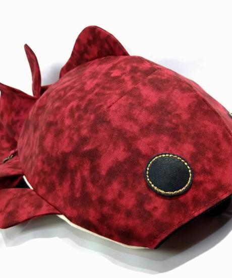 KASEI/カセイ  2134-B311  小金魚リュック (赤金魚)