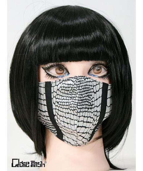 QutieFrash/キューティーフラッシュ 7827-AC ファッションマスクーパイソンサテン-