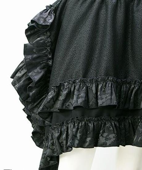 Qutie Frash/キューティーフラッシュ 7803-SK ドラゴンサテンアシメパニエスカート
