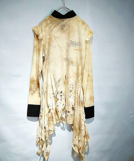 【paramnesiA】PM7-H096 ダメージフレアシャツ