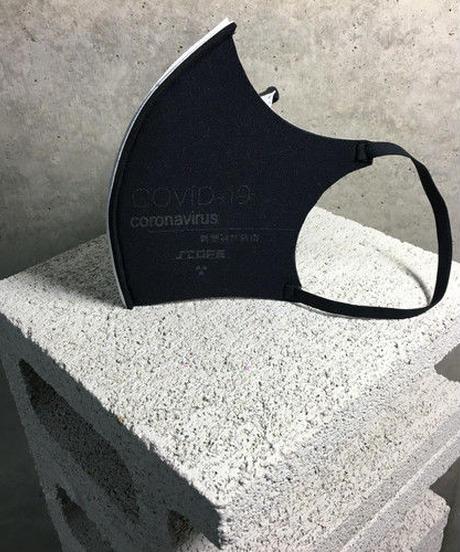 D/3/ディースリー  MS1「stop corona mask」blak× white